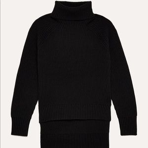 Aritzia Wilfred Free Lin Wool Turtleneck Sweater
